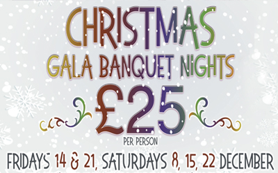 Christmas Gala Banquet Nights