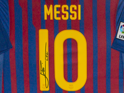 Messi Shirt MB's Leisure Bar Hemsby