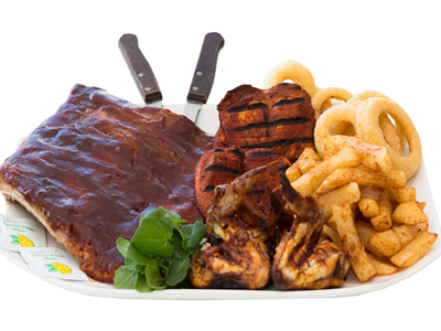 Lacon Arms ribs combo